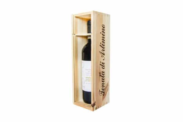 Cassa in legno da 1 bottiglia - 750ml